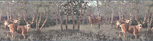 Deers Wallpaper Border ()