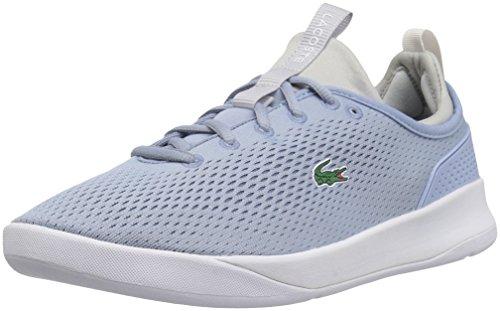 Lacoste Women's Lt Spirit 2.0 118 1 Spw Sneaker, Light Blue/LTGY, 8 M US