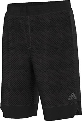 Adidas mens ICE FLEECE SHORTS AC0876_S - BLACK