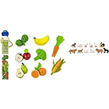 Safari Ltd TOOB 2 Pk - Fruits & Vegetables and Farm