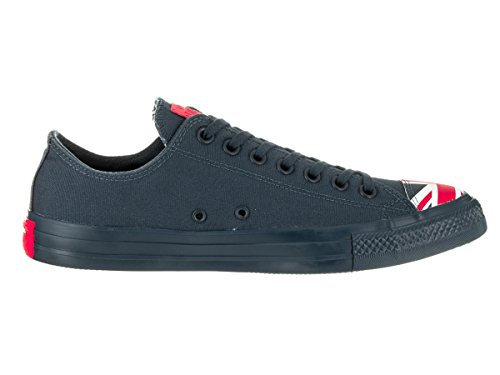 Converse Chuck Taylor All Star Ox - Zapatillas de Deporte de canvas Unisex Navy/Red/White