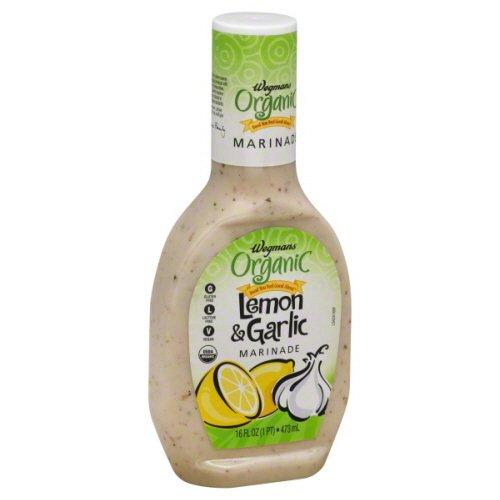 Wegmans Organic, Lemon & Garlic Marinade 16oz. (Pack of (Lemon Garlic Marinade)