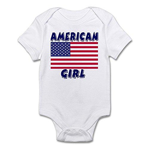 American Girl Infant Creeper - CafePress American Girl Infant Creeper - Cute Infant Bodysuit Baby Romper