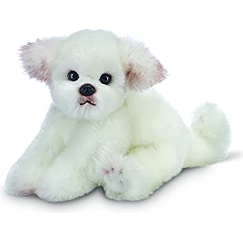"Bearington Angel Maltese Stuffed Animal Toy Dog 13"""