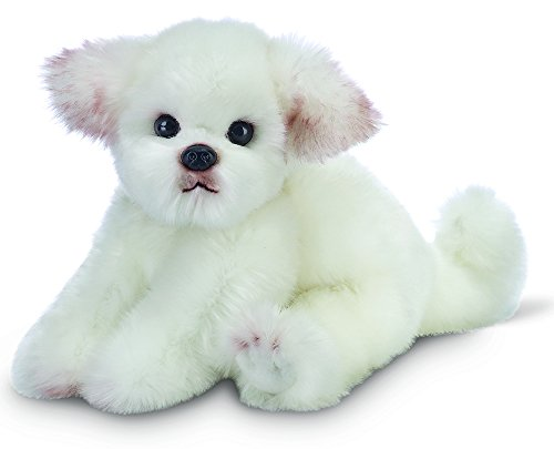 Bearington Angel Maltese Plush Stuffed Animal Puppy Dog (Maltese Dog)