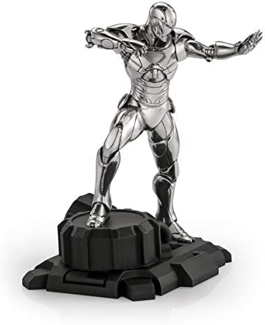 Royal Selangor Hand Finished Marvel Collection Pewter Limited Edition Iron Man Statue