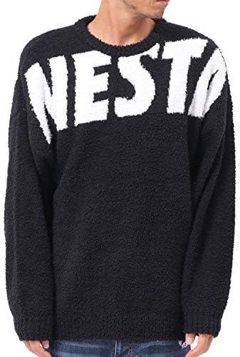[ネスタ ブランド] NESTA BRAND セーター オーバーサイズ ロゴ モール ニット 193NB1400