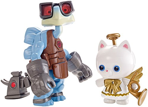 Disney/Pixar Toy Story 4 Angel Kitty And Raygon Figure, 2 Pack