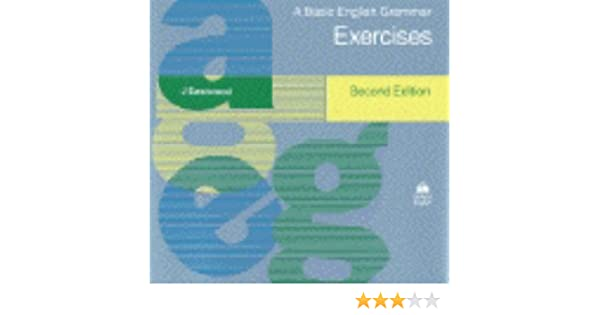 Amazon.com: A Basic English Grammar: Exercises (9780194329323 ...