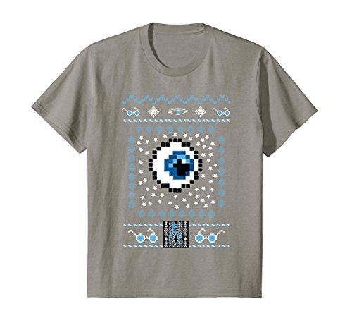 Kids Optometry Ugly Christmas Design Sunglasses Eye Ball T Shirt 8 - Ball 8 Sunglasses