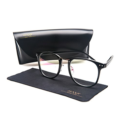 Eyewear Frames Eyeglasses Optical Frame Wayfarer Fashion Clear Lens Glasses For - Long Men Glasses Hair