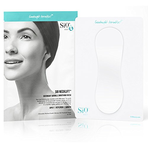 SiO NeckLift | Neckline Anti-Wrinkle Patch | Overnight Smoothing Silicone Patches For Neck Wrinkles, Fine Lines And Turkey Neck ()