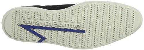 Dark Blue 00 Bommel Chaussures Derby Bleu Homme Blue 14451 Suede Floris van qwptxf88z