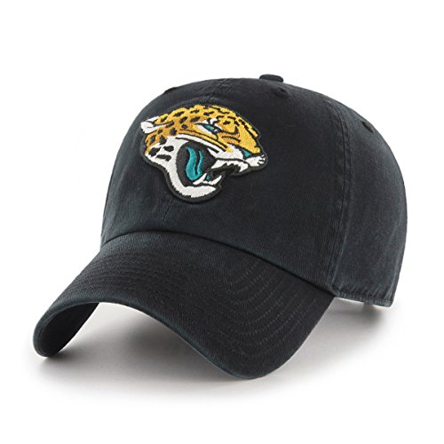 Nfl Gear Women - OTS NFL Jacksonville Jaguars Women's Challenger Clean Up Adjustable Hat, Black