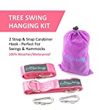 We don't sell only tree swing kits, we care, develop and test our products under highest conditions as customers have very rigorous quality standards when it comes to their children. We set out to design and manufacture tree swing straps set that com...