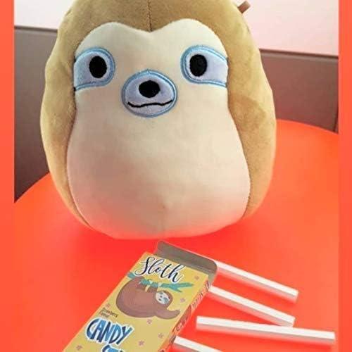Simon the Sloth Squishmallows 7.5 inch super soft plush toy