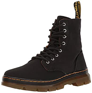 Dr martens men 39 s combs combat boot for Amazon dr martens