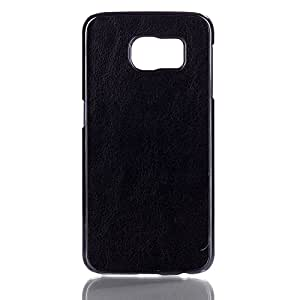 LD A000088 aspecto de piel sintética tipo libro para Samsung Galaxy S6 G920 negro