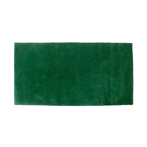 Minuteman International Nottingham verde alfombra lana chimenea Rectangular