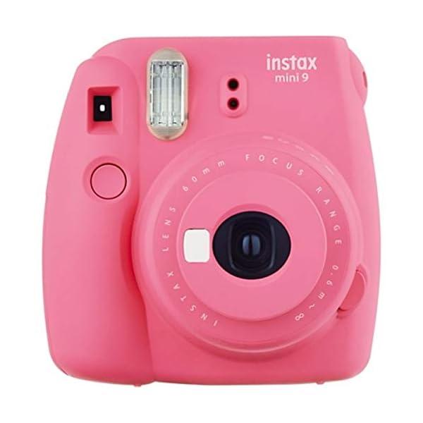 RetinaPix Fujifilm instax Mini 9 Camera with 10 Shots & 1 frame - Ice Blue