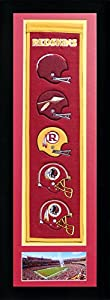 "NFL Legends Never Die Team Heritage Banner with Photo, Team Colors, 15"" x 42"""