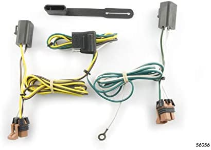 curt 56056 vehicle side custom 4 pin trailer wiring harness for select gmc acadia  8977 jetta fuse box 2011 wiring resources