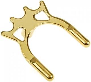 Sharplace 2pcs Robuste Tête de Pont en Laiton Luxueuse pour Queue de Billard