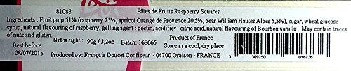 Francois Doucet Raspberry Fruit Squares, 90 gr., 18-pack by Francois Doucet (Image #5)