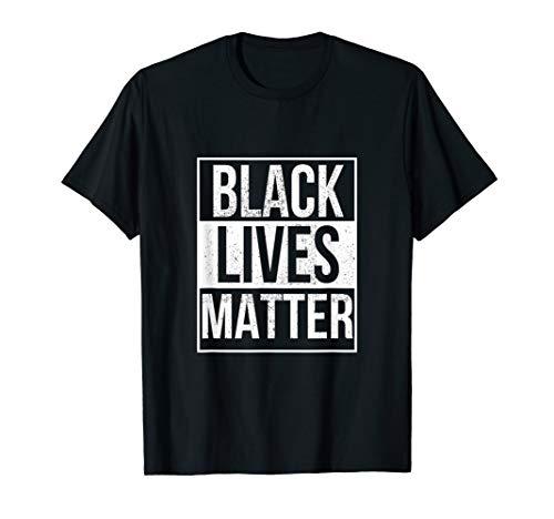 BLM T Shirt - Distressed Black Lives Matter T-Shirt