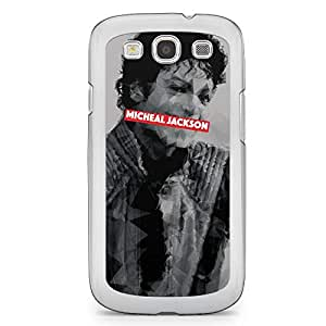 Micheal Jackson Samsung Galaxy S3 Transparent Edge Case - Heroes Collection