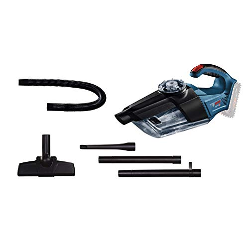 Bosch GAS 18V-1 Professional Cordless Vacuum Cleaner / Cleaning Performance Redefined! With new rotational airflow technology ( Bare Tool Body Only)