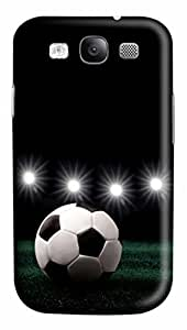 iCustomonline Light Football Field Designs Case Cover for Samsung Galaxy S3 I9300 3D PC Material by runtopwell