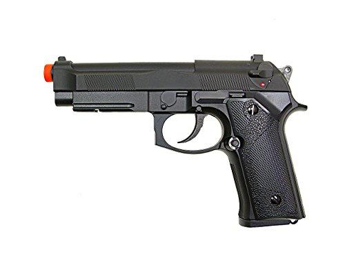 y & p modelo-2103 m9v gnb negro peso pesado (pistola de Airsoft)