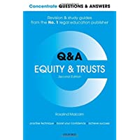 Concentrate Questions and Answers Equity and Trusts: Law Q&A Revision and Study Guide