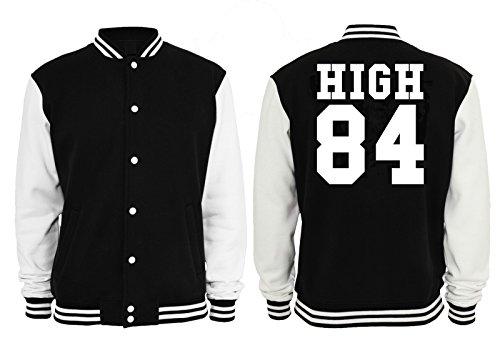 High 84 College Vest Black