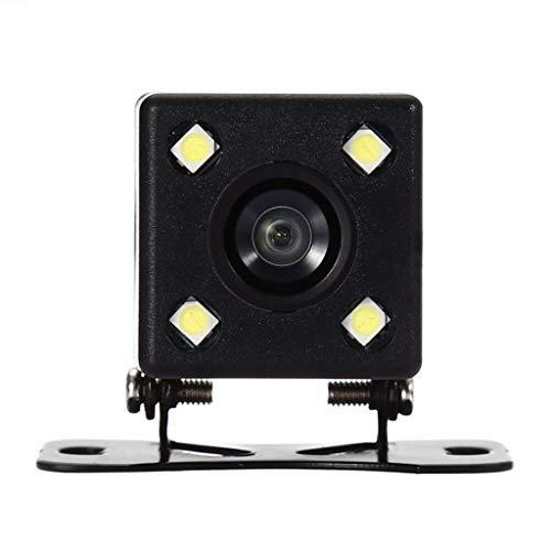 (HankuCar Rear View System Monitor 4.3 TFT LCD+Night Vision Backup Reverse Camera Kit Black)