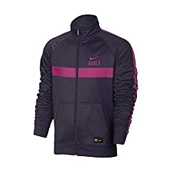 Nike Youth Barcelona 1617 Core Purple Dynastyvivid Pink Jacket - S