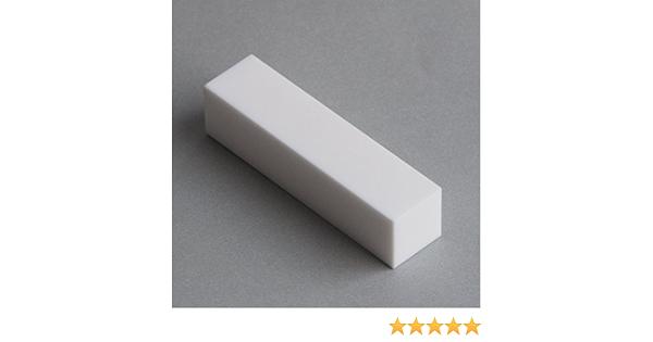 Machinable Ceramic Bar Macor MAC4-1209 3//4 X 3//4 Square X 9 Long