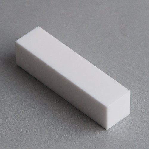 Macor, MAC4-3212, Machinable Ceramic Bar, 2'' X 2'' Square X 12'' Long by Macor