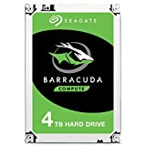 Seagate BarraCuda 4TB Internal Hard Drive HDD – 3.5 Inch SATA 6 Gb/s 5400 RPM 256MB Cache for Computer Desktop PC – Frustration Free Packaging (ST4000DMZ04)