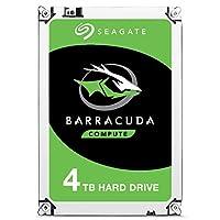 Seagate BarraCuda Internal Hard Drive 4TB SATA 6Gb/s 256MB Cache 3.5-Inch - Frustration Free Packaging (ST4000DMZ04)