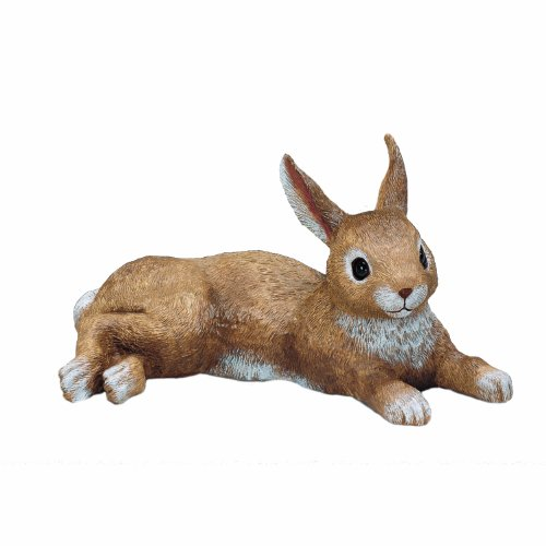 Kay Home Product Bunny Laying Statuary (Discontinued by Manufacturer)