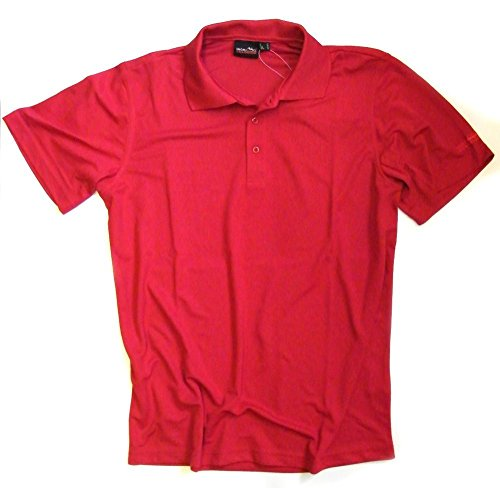 High Colorado Herren Poloshirt Stockholm Funktionsshirt, Gr. M, rot