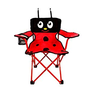 Amazon.com : Kids Folding Lady Bug Chair Child Size