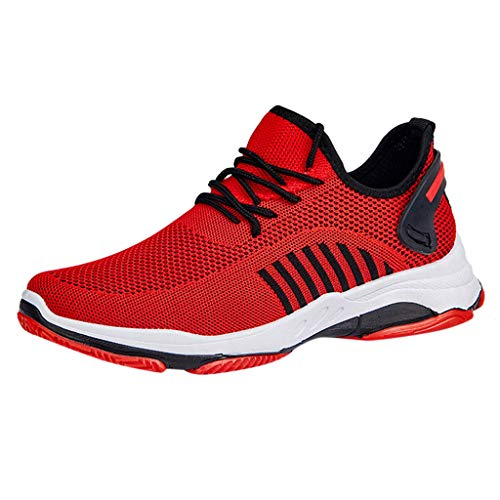 LUCAMORE Mens Sneakers Shoes Mesh Outdoor Sneakers Lightweight Gym Athletic Shoe MenTraining Shoe Women