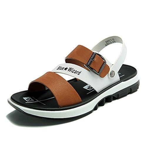 Damen Sommer Hausschuhe Atmungsaktive Flache Mode Freizeitschuhe Sandalen ( Farbe : 3 , größe : EU40/UK7/CN41 )