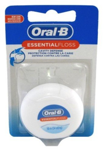 Oral-B Essential Floss 55 Yards Waxed (Pack of - Oral B Essential Floss Waxed