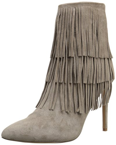 Steve Madden Flappper, Botines para Mujer Taupe Suede