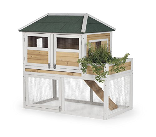Prevue Pet Products 4701 Chicken Coop with Herb Planter,...