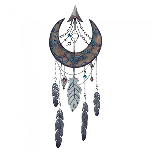 Crescent Wall - Crescent Moon Dream Catcher Wall Decor